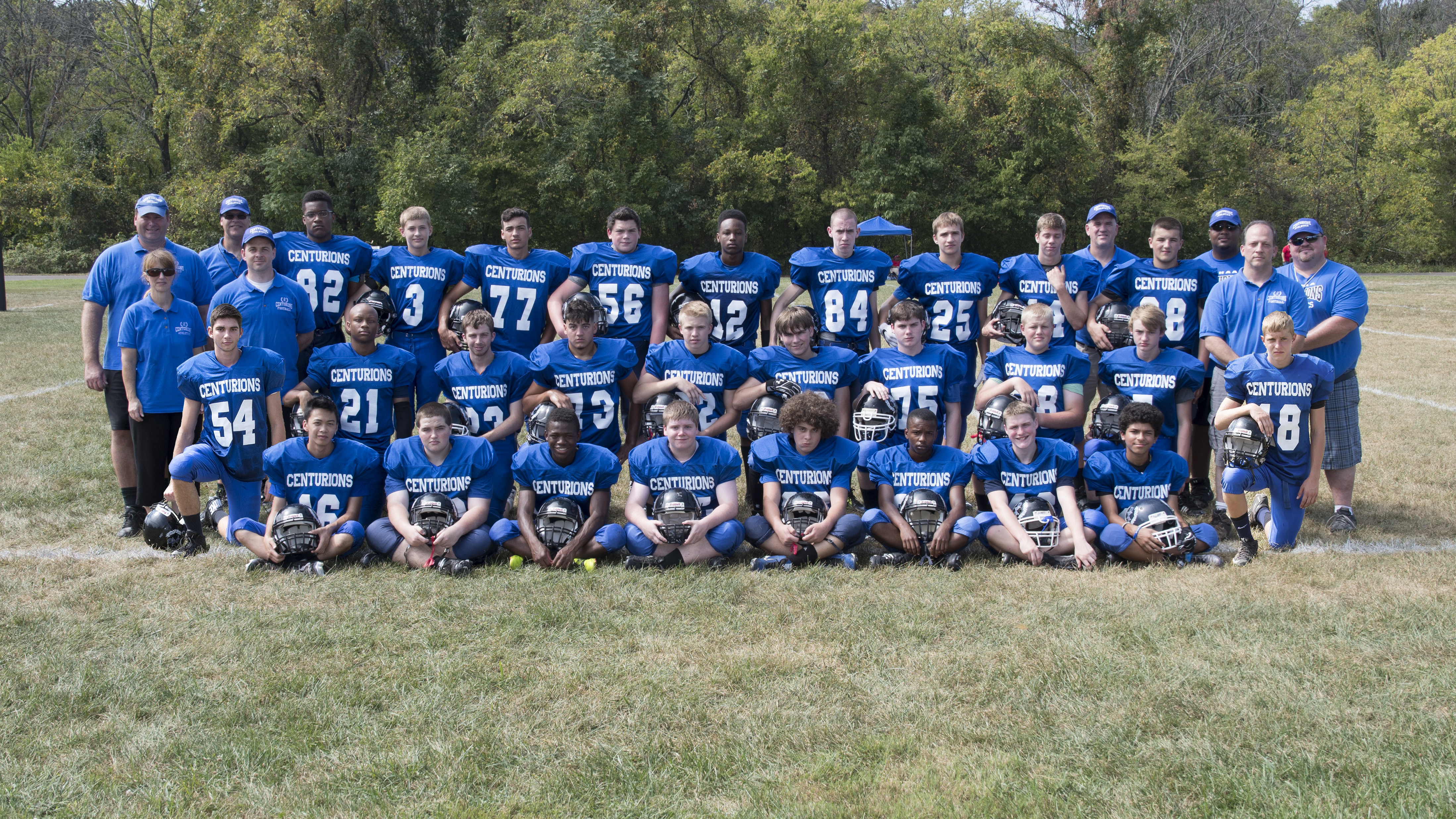 NVHAA 2016 Football Team